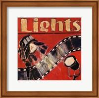 Lights - mini Fine Art Print