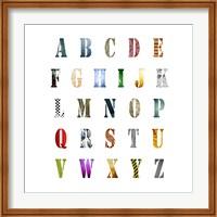 Alphabet Poster Fine Art Print