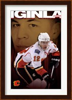 Flames® - J Iginla 09 Wall Poster