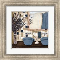 Blue zen bath I Fine Art Print