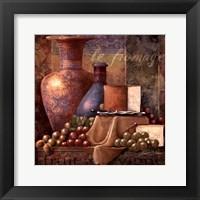 Cheese & Grapes I Fine Art Print