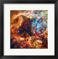 A Hubble Space Telescope image of the R136 Super Star Cluster Fine Art Print