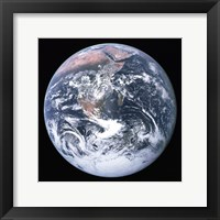 The Earth seen from Apollo 17 Fine Art Print