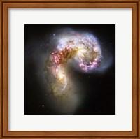 The Antennae Galaxies in Collision Fine Art Print