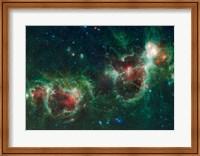 The Heart and Soul Nebulae Fine Art Print