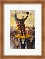 William McKinley Campaign Poster Fine Art Print