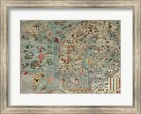 Carta Marina, Map of Scandinavia Fine Art Print