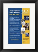 OSHA Job Safety and Health Version 2012 Fine Art Print