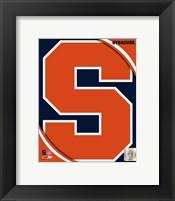 Syracuse University Orangemen Team Logo Fine Art Print