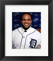 Prince Fielder 2012 Press Conference Fine Art Print