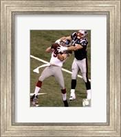 Chase Blackburn Interception Super Bowl XLVI Fine Art Print