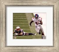 Ahmad Bradshaw Super Bowl XLVI Running Action Fine Art Print