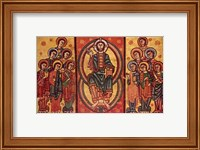 Altar frontal from La Seu d'Urgell or of the Apostles Fine Art Print