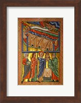 An Angel Warning the Sleeping Three Magi Not to Return to Herod Fine Art Print