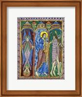 Albans Psalter: Expulsion from Paradise Fine Art Print