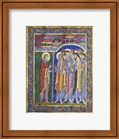 Mary Magdalene Tells the Disciples Fine Art Print
