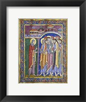 Mary Magdalene Tells the Disciples Fine Art Print