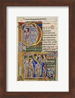 Our Father, initial P In Albani Psalter Fine Art Print