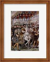 The Solemn Entrance of Emperor Charles V, Francis I of France Fine Art Print