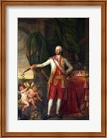 Portrait of the Emperor Joseph II Fine Art Print