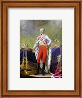 Emperor Franz, a Portrait of King of Hungary Fine Art Print