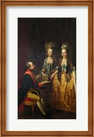 Portrait of Emperor Joseph II at the Piano with His Sisters Maria Anna and Maria Elisabeth Fine Art Print