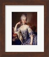 Portrait of Marie Antoinette Fine Art Print
