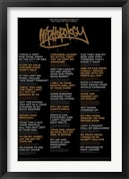 Hiphopology Wall Poster