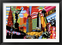 New York Taxi I Fine Art Print