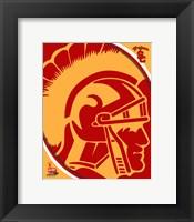 University of Southern California Trojans Team Logo Fine Art Print