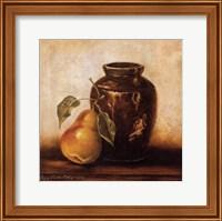Crock with Pears Fine Art Print