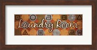 Laundry Symbols Panel I - mini Fine Art Print