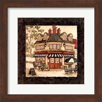 Quaint Cafe I Fine Art Print