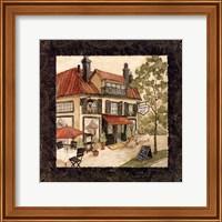 Quaint Cafe II Fine Art Print