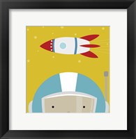 Peek-A-Boo Astronaut Fine Art Print
