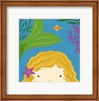 Peek-A-Boo Mermaid Fine Art Print