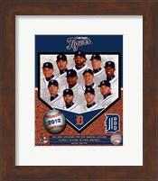 Detroit Tigers 2012 Team Composite Fine Art Print