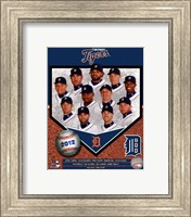 Detroit Tigers 2012 Team Composite Fine Art Print