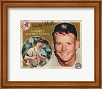 Mickey Mantle 2012 Studio Plus Fine Art Print