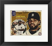 Prince Fielder 2012 Studio Plus Fine Art Print
