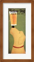 Yellow Dog Brewing Co. Fine Art Print