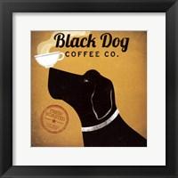 Black Dog Coffee Co Fine Art Print