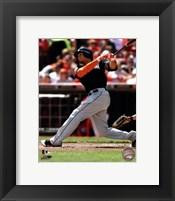 Giancarlo Stanton 2012 batting Fine Art Print