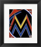 Miami Marlins 2012 Team Logo Fine Art Print