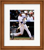 Troy Tulowitzki 2012 Batting Action Fine Art Print