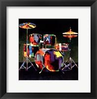 Drum Set Fine Art Print