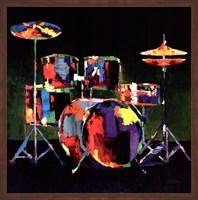 Drum Set - ovsz Fine Art Print