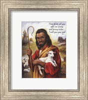 Christ the Shepherd Fine Art Print