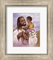 Christ with Child Fine Art Print
