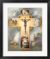 The Living Cross Fine Art Print